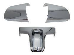 Aluminum Steering Wheel Cover Blinds Clip Chrome for VW T5 Passat B7 Tiguan 5N