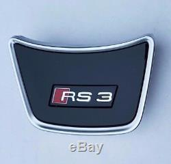 Audi A3 8V original RS3 Lenkrad Logo Schriftzug Emblem Lenkradclip S-Line S3