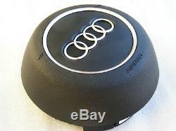 Audi A3 S3 8v A4 S4 Rs4 2015-2019 Steering Wheel Cover Air Ba-g Original