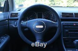Audi A4/S4 B6, TT Mk1 Alcantara Steering Wheel Cover
