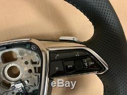 Audi A6 A7 A8 Q8 4K 4N 4M OEM S-line Steering Wheel with Paddles 4K0419091N