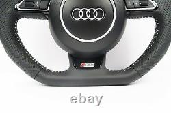 Audi S Line Flat Bottom Steering Wheel with Airbag & Shift Paddles Q5 SQ5 #87