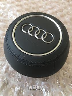 Audi TT 2014- 8S TTS TTRS R8 leather steering wheel cover 8S0880201AM