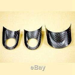 BAR Autotech Carbon Fiber Steering Wheel Cover for R55 R56 R57 R58 R59 R60 R61