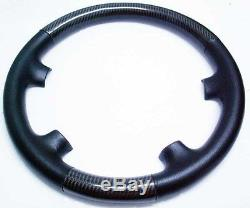 Benz Real Leather Carbon Steering Wheel Cover For W211
