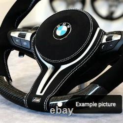 BMW 1 2 3 4 5 6 M2 M3 M4 M5 M6 Performance ALCANTARA Trim Cover Steering Wheel