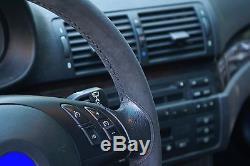 BMW 3-Series E46 Alcantara Steering Wheel Cover
