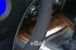 BMW 3-Series E90, 1-Series E81 Alcantara Steering Wheel Cover