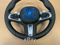 BMW 5 6 7 X3 X4 G30 G31 G38 G32 G11 G12 G01 G02 M Steering Wheel Paddles HEATING
