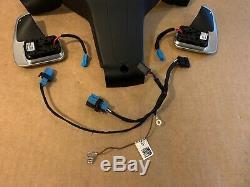 BMW 5 6 F06 F07 F10 F11 F12 F13 Steering Wheel Shift Paddles Wire Cover SET
