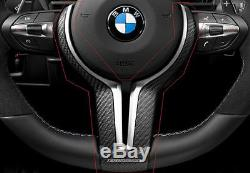BMW 5 Series F10 Carbon Fiber M Performance Steering Wheel Cover 32302345203 New
