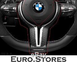 BMW 6 Series F06 F12 F13 Carbon Fiber M Performance Steering Wheel Cover New