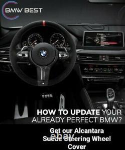 BMW Alcantara Suede Steering Wheel Cover F30 F32 F87 M2 F80 M3 F82 F85 F86 F33