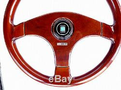 BMW E24 E28 E30 E32 E34 M5 Wooden Sport steering wheel VICTOR, ITALY