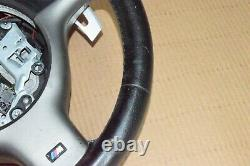 BMW E46 M3 SMG Sequential Manual Gear Steering Wheel Paddle Shifters Leather Oem