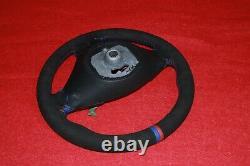 BMW E70 X5 X6 Front Left DriverSport Suede Alcantara Heated Steering Wheel OEM