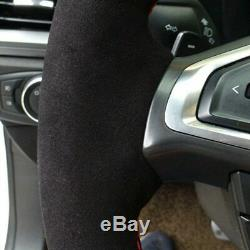 BMW E90 325i 330i 335i alcantara steering wheel cover