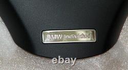 BMW E90 E91 2006-12 E92 E93 2007-13 Black Individual Steering Wheel Trim OEM NEW