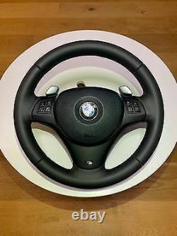 BMW E90 E91 E92 E93 06-11 325i 328i 330i 335i sport steering wheel shift paddles