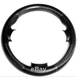 Bmw E90 E91 E92 E93 M3 E87 E88 Leather Carbon Fiber M-tech Steering Wheel Cover