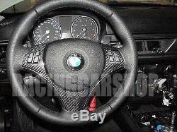 BMW E90 Rear carbon fiber steering wheel cover 330i 325i