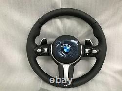 BMW F10 F11 F18 F06 F12 F13 F01 F02 F07 5 6 7 M steering wheel with paddles