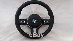 BMW F10 F11 F18 F06 F12 F13 F01 F02 F07 Steering Wheel Heated + Dual Stage AIR