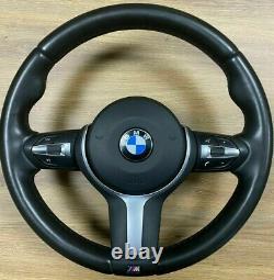 BMW F30 F31 F32 F33 F34 F15 F16 F20 F21 F22 F25 OEM M Sport Steering Wheel