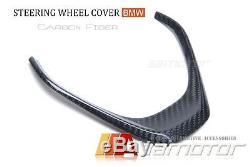 BMW F30 F31 F32 F33 F34 F20 F22 Non-M CARBON FIBRE STEERING WHEEL COVER TRIM