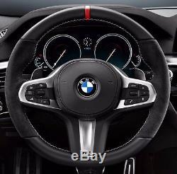BMW G30 G11 G12 G05 G14 G15 G07 M Performance Sport Alcantara Steering Wheel OEM
