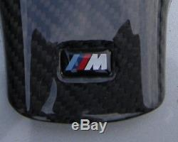 BMW M3 Carbon Fiber M Steering Wheel Cover for E46 E39 X3 X5 M5