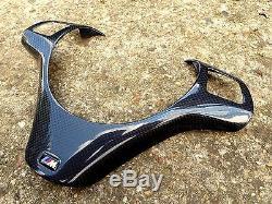 BMW M3 Carbon Trim M Steering Wheel Cover for Trim E90 E91 E87 E88 E81 E82 2x2