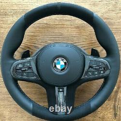 BMW M PERFORMANCE Alcantara Steering Wheel HEATING G30 G31 G11 G12 G05 G01 LCI