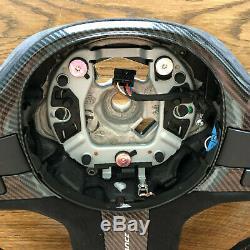 BMW ///M PERFORMANCE G30 G31 G11 G12 G05 G01 G02 Alcantara CARBON Steering Wheel