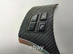 BMW M SPORT 1 E82 3 E90 E92 X1 E84 STEERING WHEEL BUTTONS shift paddles CARBON