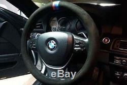 BMW M Style Steering Wheel Cover F10 F30 E60 E90 X1 X3 X5 M3 M5 M6