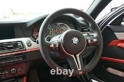 BMW NEW OEM F87 F80 F83 F82 F10 F12 F06 M STEERING WHEEL TRIM REAR COVER With PADS
