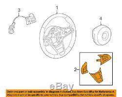 BMW OEM 09-10 Z4 Steering Wheel-Cover 32306799744