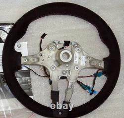 BMW OEM F10 M5 F06 F12 F13 M6 M Performance Alcantara Steering Wheel WithDisplay