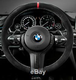 BMW OEM F15 X5 14+ F16 X6 15+ M Performance Alcantara & Carbon Steering Wheel II