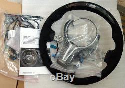 BMW OEM F80 F82 F83 M3 M4 M Performance Alcantara Steering Wheel Display CF Trim