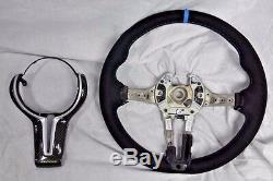 BMW OEM F85 X5 M F86 X6 M 2015+ Performance Alcantara & Carbon Steering Wheel