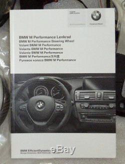 BMW OEM F87 M2 M Performance Alcantara Steering Wheel With Display & Carbon Trim