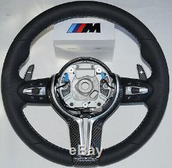 BMW Performance M3 M4 F30 F31 F32 F80 F82 F83 black Carbon Steering Wheel Cover