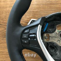 BMW Steering Wheel NAPPA+ALCANTARA F30 F32 F31 F34 F21 F33 F20 F36 ///M BLUE