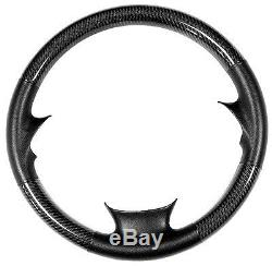 Bmw X5 E70 2008up Real Leather Carbon Steering Wheel Cover 07-10