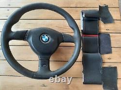 BMW e30, e34, e36 m3 m5 375mm m tech 2 steering wheel cover. Hand made
