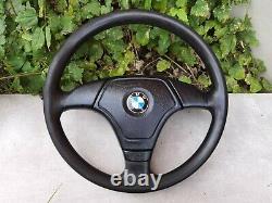 BMW e31 e32 e34 e36 M3 M5 Z3 e39 e38 OEM Leather Sport Steering wheel Lenkrad
