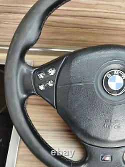 BMW e31 e32 e34 e36 e38 e39 M3 M5 Z3 OEM Leather ///M Sport Steering wheel