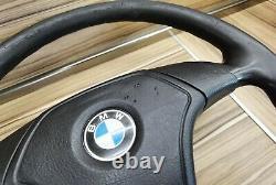 BMW e31 e34 e36 M3 M5 Z3 e39 OEM Leather Sport Steering wheel Lenkrad